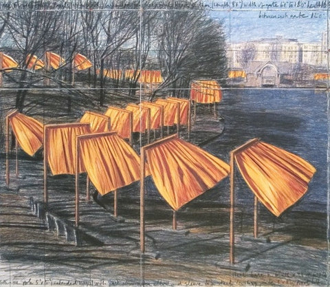 Project for the Gates VIII, Javacheff Christo