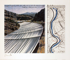 Over the River; project for the Arkansas River, Javacheff Christo