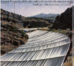 Over the River; project for the Arkansas River, Javacheff Christo Alternate View