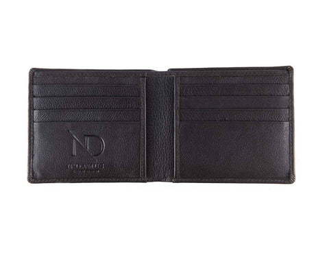 Arthur Black Bifold Wallet, N'Damus Alternate View