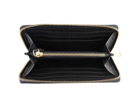 Gwenevere Black Zip Purse, N'Damus Alternate View