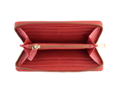 Gwenevere Red Zip Purse, N'Damus Alternate View