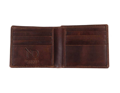 Arthur Brown Bifold Wallet, N'Damus Alternate View