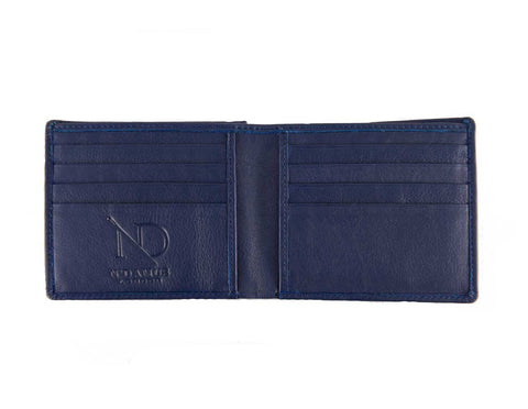 Arthur Navy Bifold Wallet, N'Damus Alternate View