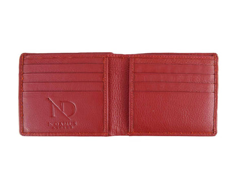 Arthur Red Bifold Wallet, N'Damus Alternate View
