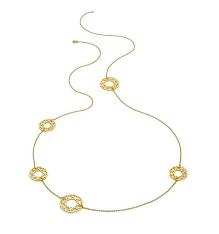 Multi-Brilliant Diamond Necklace, Myia Bonner