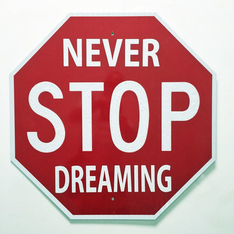 Never Stop Dreaming - Diamond Dust Detail, Plastic Jesus - CultureLabel