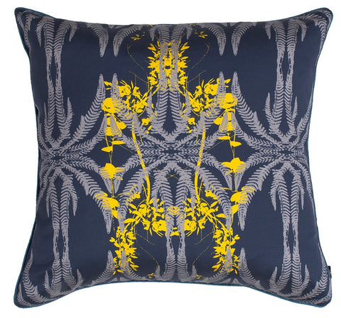 Jutias Cushion (Night Sea), KOUAMO - CultureLabel