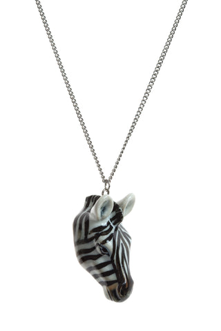 Zebra Head Necklace, The British Library