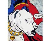 Lichtenstein's Dog, Mychael Barratt - CultureLabel
