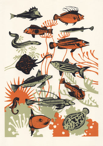 Orange Seaweed Fish, Eliza Southwood - CultureLabel