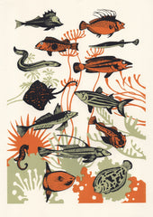 Orange Seaweed Fish, Eliza Southwood