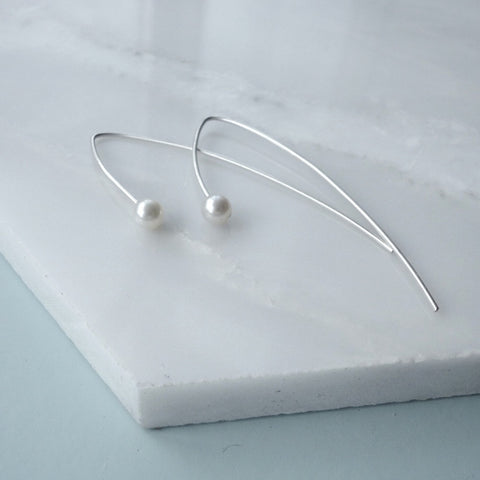 Pearl - Line Earrings, Dorota Todd - CultureLabel - 1
