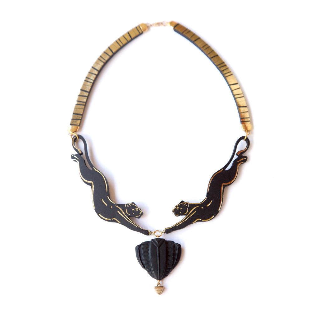 Pouncing Panther Necklace, Rosita Bonita - CultureLabel - 1