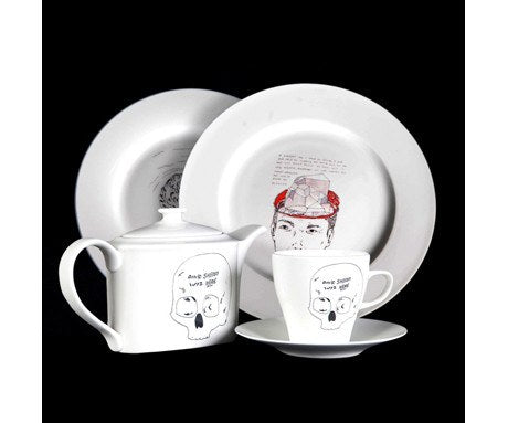 Limited Edition Tea Set, David Sherry - CultureLabel