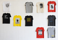 Martin Boyce Discordia T-Shirt, Patrica Fleming Projects Alternate View