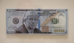 Trump Bank LLC- Framed Donald Trump $100 Bill Alternate View