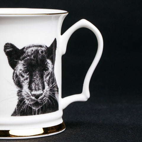 Peering Panther Mug, Abi Overland Jersey Alternate View