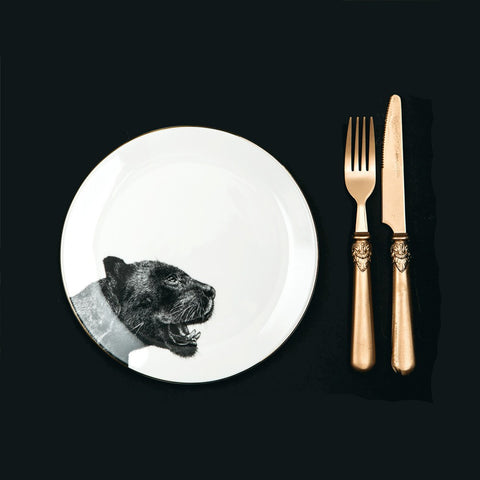 Panther Dinner Plate, Abi Overland Jersey - CultureLabel - 1