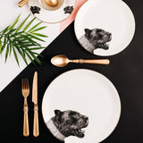 Panther Dinner Plate, Abi Overland Jersey - CultureLabel - 3
