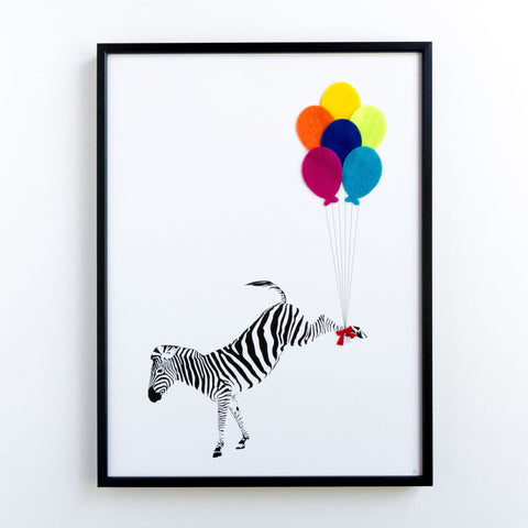 The Flying Zebra, Hello Geronimo - CultureLabel - 1