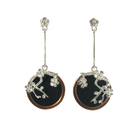 Cherry Blossom Earrings, The British Museum