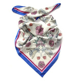 Love Bees Silk Scarf (Grey), Penelope Kenny - CultureLabel