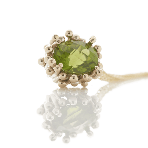 Peridot Pendant, Yen Jewellery Alternate View