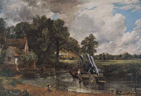 Haywain with Cruise Missiles, Peter Kennard Alternate View