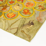 Phoebe Anna Traquair Square Silk Satin Scarf, National Museum of Scotland - CultureLabel