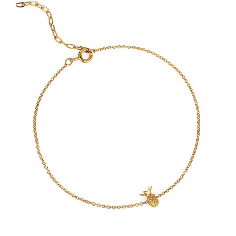 Gold Pineapple Bracelet, Lee Renée - CultureLabel