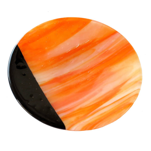 Planet Fused Glass Bowl, RD Glass Alternate View
