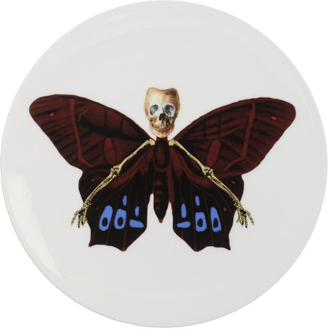 Lepidoptera Profundus Cake Plate, The New English - CultureLabel
