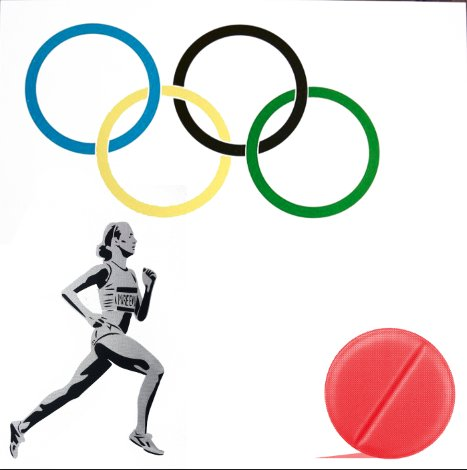 New Logo for the Olympic Doping Team, Pure Evil