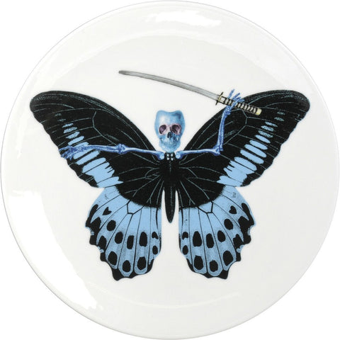 Lepidoptera Putulanus Cake Plate, The New English - CultureLabel