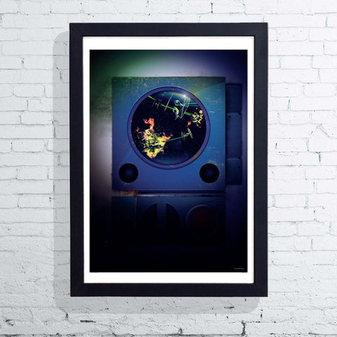 Visions of War - R2 D2 (Framed), The Designers Nursery - CultureLabel
