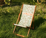 Joanna Lumley Deckchair, The Royal Parks Foundation - CultureLabel