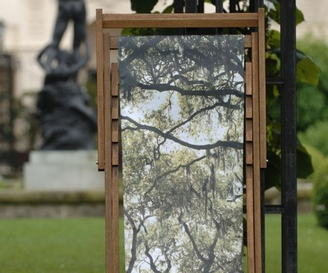 Sam Taylor-Wood Deckchair, The Royal Parks Foundation Alternate View