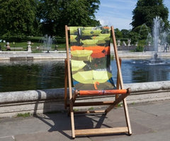 Luke Jerram Deckchair, The Royal Parks Foundation Alternate View