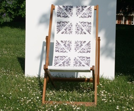 Polly Morgan Deckchair, The Royal Parks Foundation Alternate View