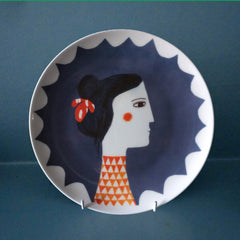 Red Triangle Plate, Katy Leigh