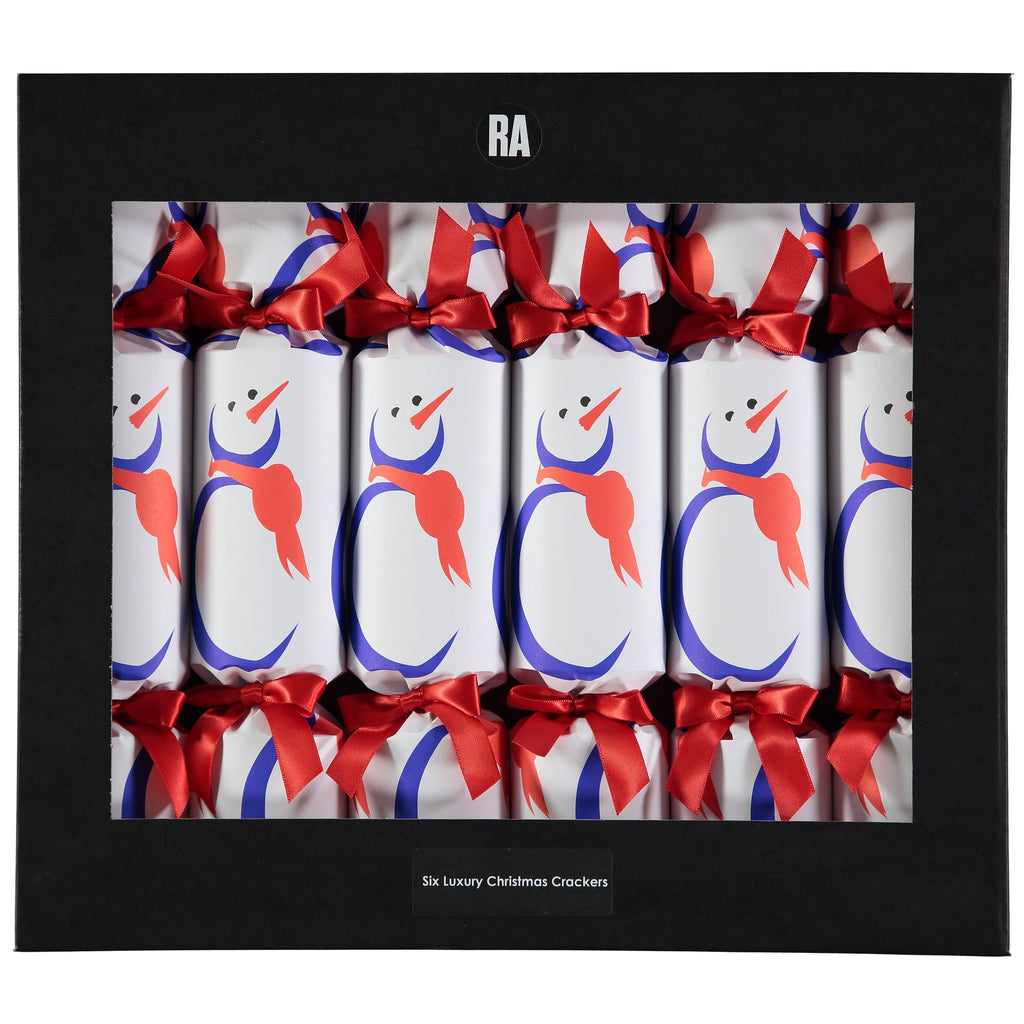 Ian Ritchie Snowman Crackers Box of Six, The Royal Academy - CultureLabel - 1