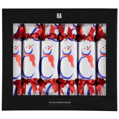 Ian Ritchie Snowman Crackers Box of Six, The Royal Academy