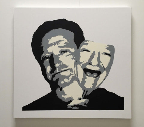 Robin Williams - 'Behind the Mask', Plastic Jesus - CultureLabel - 1