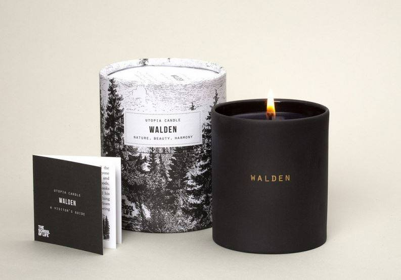 Utopia Candle: Walden, The School of Life - CultureLabel - 1