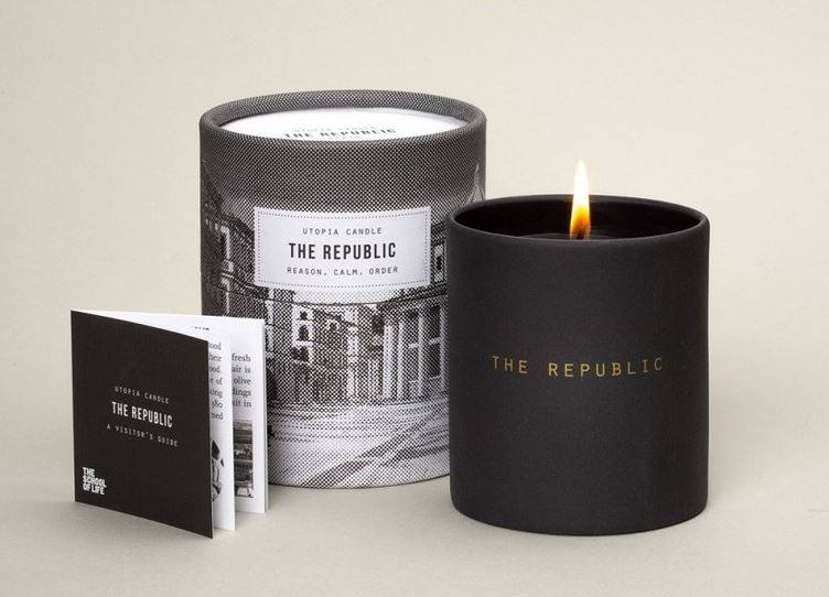 Utopia Candle: The Republic, The School of Life - CultureLabel - 1