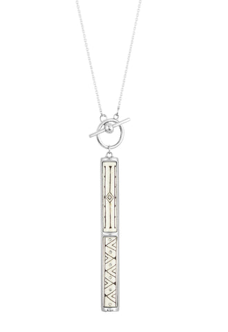 Sami T-Bar Pendant Necklace, No 13