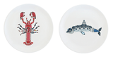 Lobster & Shark Large Plates Set, Kim Sera - CultureLabel - 1