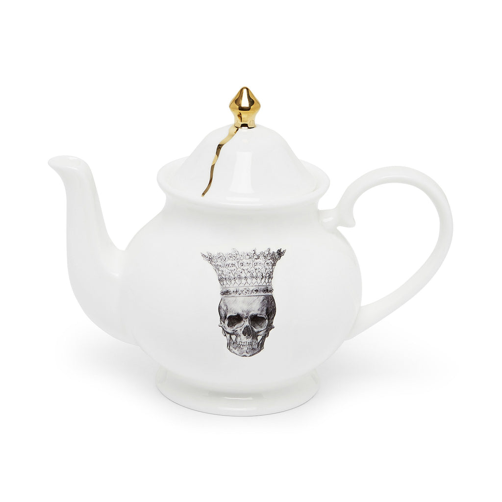 Skull in Crown Teapot, Melody Rose - CultureLabel - 1
