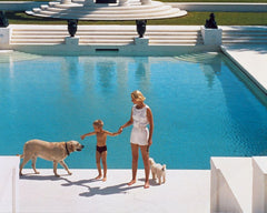 Nice Pool, Slim Aarons Alternate View